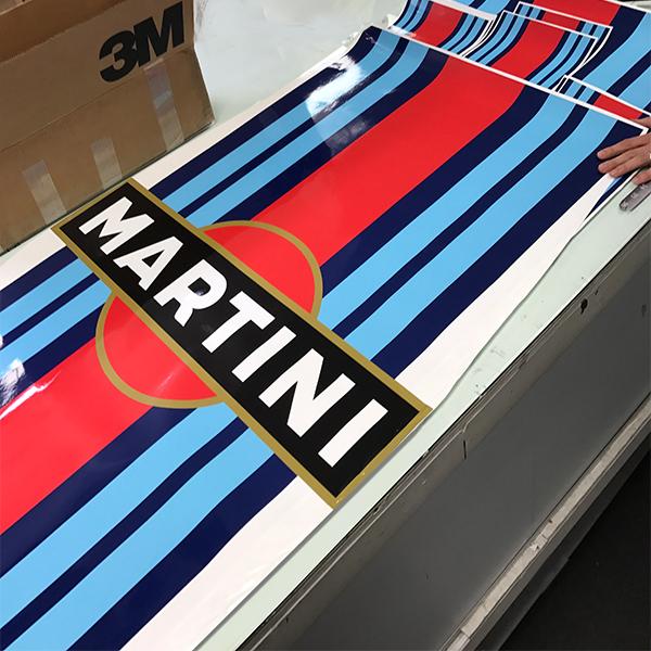 Porsche 911 Martini Le Mans Racing Stripe Decal Kit Por