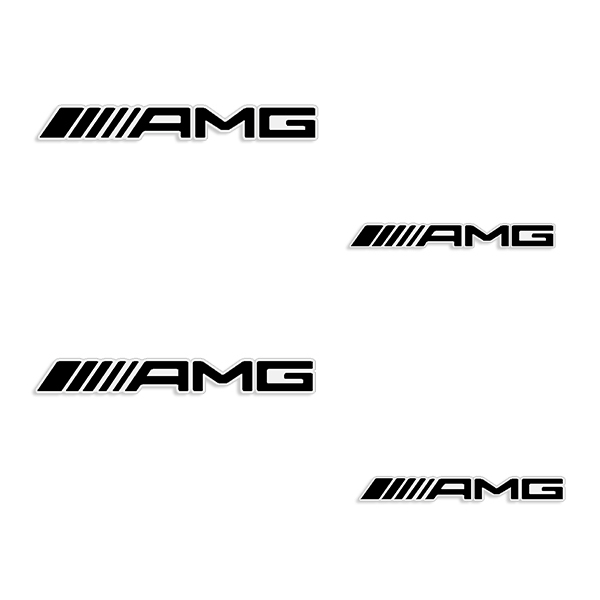 AMG Mercedes Brake Caliper Decals - Any Color!