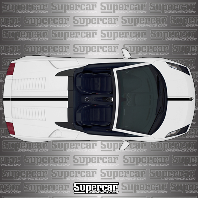 Lamborghini Gallardo Spyder Performance Stripe (1 - Color)