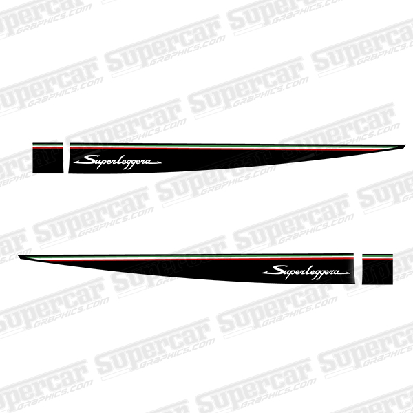 Lamborghini Gallardo SuperLeggera Style Stripe Kit - Version 1