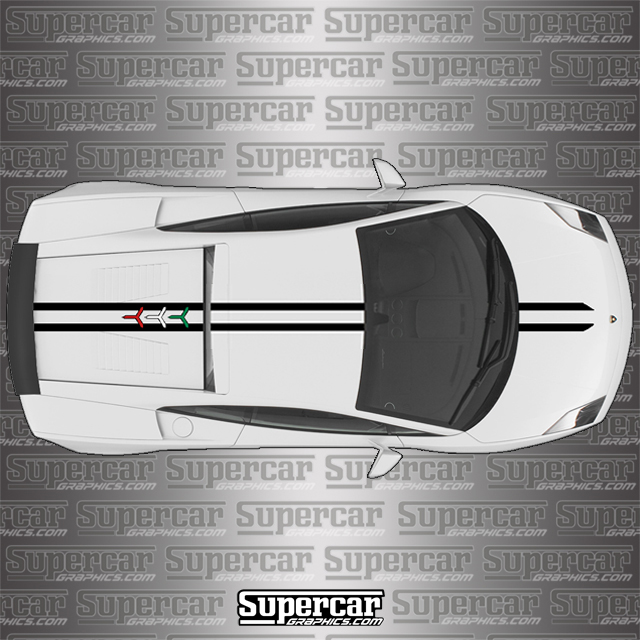 "Lamborghini Gallardo Coupe ""Performante"" Stripe Kit"
